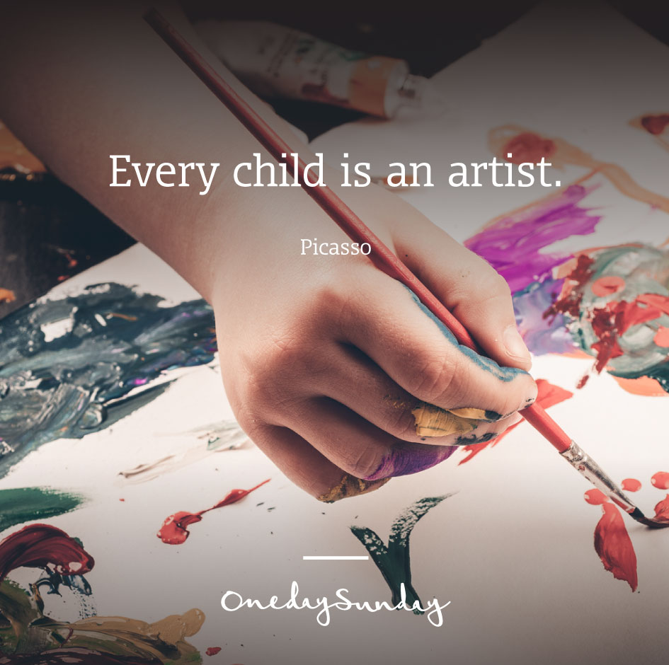 Museum visit - Every child is an artist - Picasso